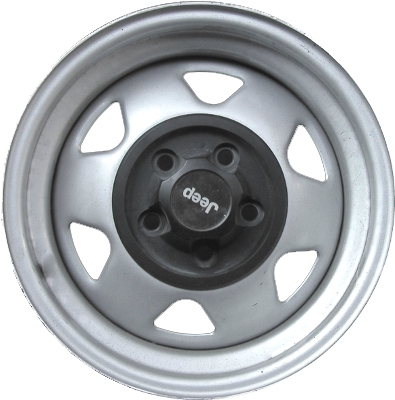 Steel OEM Jeep Rim with Cap