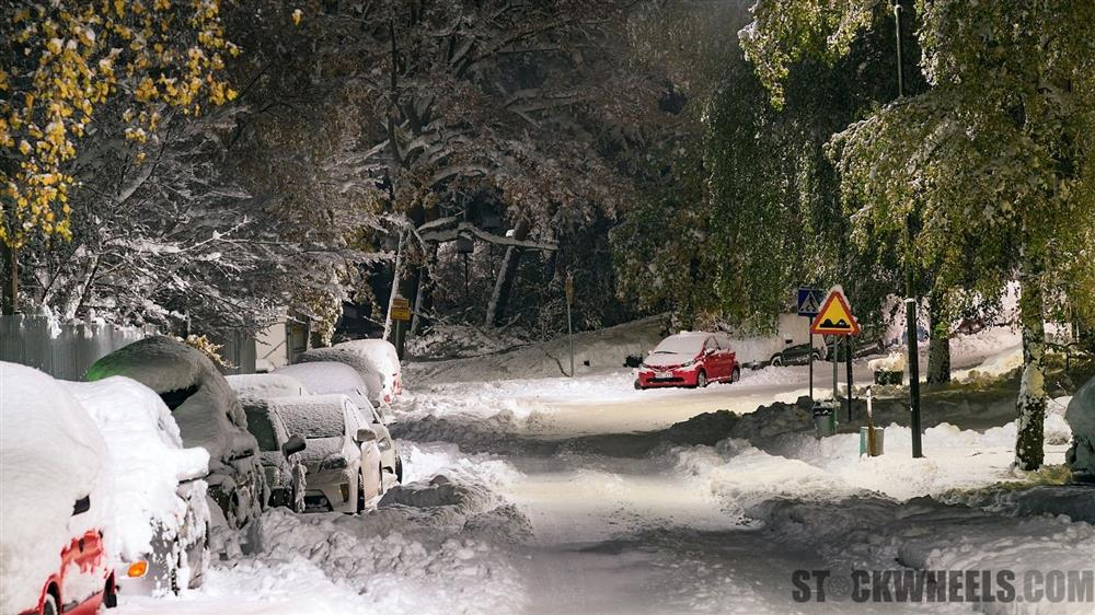 Driving in harsh winters