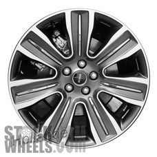 Picture of Lincoln MKC (2015-2018) 19x8.5 Aluminum Alloy Chrome 7 Spoke [10021]