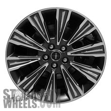 Picture of Lincoln MKZ (2015-2016) 19x8 Aluminum Alloy Chrome 10 V Spoke [10023]