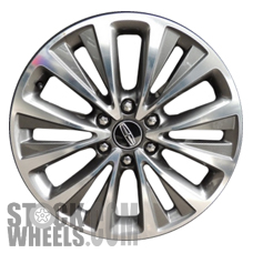 Picture of Lincoln NAVIGATOR (2015-2017) 20x8.5 Aluminum Alloy Chrome 6 V Spoke [10024]