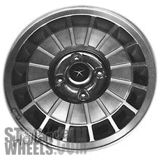 Picture of Chrysler LE BARON (1982-1983) 14x5.5 Aluminum Alloy Machined with Charcoal 16 Slot [01297]