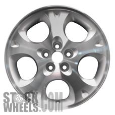 Picture of Chrysler SEBRING (1997-2000) 16x6.5 Aluminum Alloy Chrome 5 Spoke [02099B]