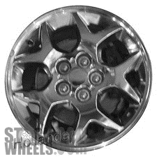 Picture of Plymouth NEON (2000-2001) 15x6 Aluminum Alloy Chrome 5 Y Spoke [02129B]