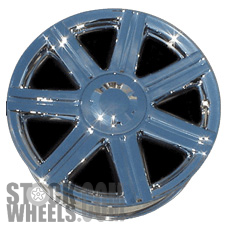 Picture of Chrysler CROSSFIRE (2004-2008) 18x7.5 Aluminum Alloy Chrome 7 Spoke [02229]