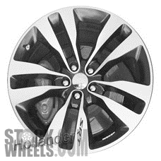 Picture of Dodge CHARGER (2012-2014) 20x9 Aluminum Alloy Chrome 5 Double Spoke [02436]