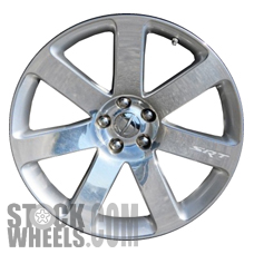 Picture of Chrysler 300 (2012-2014) 20x9 Aluminum Alloy Polished with Silver 7 Spoke [02438A]