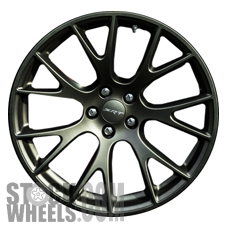 Picture of Dodge CHARGER (2015-2018) 20x9.5 Aluminum Alloy Satin Black 7 Y Spoke [02528A]