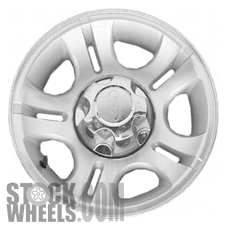 Picture of Mazda B-2300 (2005-2010) 15x7 Aluminum Alloy Chrome 5 Double Spoke [03431]