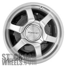 Picture of Ford GT (2005-2006) 19x11 Aluminum Alloy Machined with Silver 6 Spoke [03569]