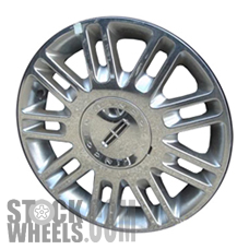 Picture of Mercury GRAND MARQUIS (2009-2011) 17x7 Aluminum Alloy Chrome 9 Double Spoke [03637B]