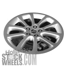 Picture of Mercury MILAN (2010-2011) 18x7.5 Aluminum Alloy Polished 10 Spoke [03803]