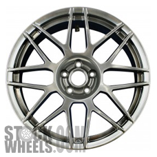 Picture of Ford MUSTANG (2011-2012) 20x9.5 Aluminum Alloy Dark Hyper Silver 8 Y Spoke [03866]