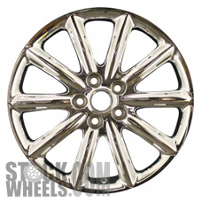 Picture of Buick LUCERNE (2006-2007) 18x7.5 Aluminum Alloy Chrome 10 Spoke [04028]