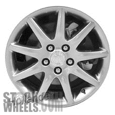 Picture of Buick LUCERNE (2007-2008) 18x7.5 Aluminum Alloy Chrome 9 Spoke [04086]