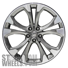 Picture of Buick CASCADA (2016-2018) 20x8.5 Aluminum Alloy Machined with Black 5 Split Spoke [04138]