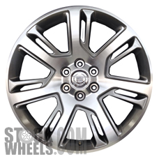 Picture of Cadillac ESCALADE (2015-2019) 22x9 Aluminum Alloy Chrome 7 Split Spoke [04738]