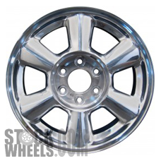 Picture of Isuzu ASCENDER (2006-2007) 17x7 Aluminum Alloy Chrome 6 Spoke [05143]