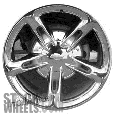 Picture of Chevrolet SSR (2004-2006) 20x10 Aluminum Alloy Chrome 5 Spoke [05168]