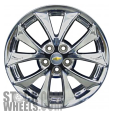 Picture of Buick ALLURE (2008-2009) 18x7 Aluminum Alloy Chrome 5 V Spoke [05268]