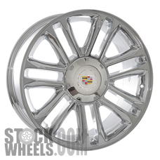 Picture of Cadillac ESCALADE ESV (2007-2014) 22x9 Aluminum Alloy Chrome 7 Double Spoke [05358]