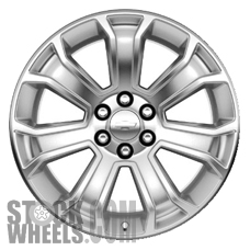 Picture of Chevrolet SILVERADO 1500 PICKUP (2014-2018) 22x9 Aluminum Alloy Chrome 7 Spoke [05665]