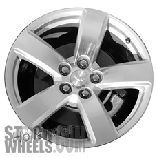 Picture of Chevrolet MALIBU (2015-2016) 19x8.5 Aluminum Alloy Chrome 5 Spoke [05677]