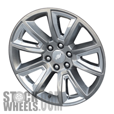 Picture of Chevrolet SUBURBAN 1500 (2015-2018) 22x9 Aluminum Alloy Chrome 5 Double Spoke [05696]