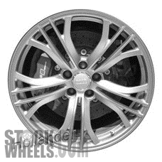 Picture of Audi R8 (2011-2015) 19x8.5 Aluminum Alloy Chrome 5 Double Y Spoke [58906]