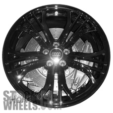 Picture of Audi R8 (2015) 19x11 Aluminum Alloy Chrome 5 Double Y Spoke [58964]