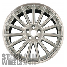 Picture of Jaguar XJ (2008-2009) 20x9 Aluminum Alloy Hyper Silver 15 Spoke [59747]