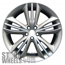 Picture of Jaguar XJ (2010-2018) 20x10 Aluminum Alloy Chrome 5 Triple Spoke [59872]