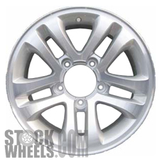 Picture of Suzuki VITARA (2004-2006) 16x7 Aluminum Alloy Chrome 5 Double Spoke [60132]