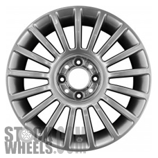 Picture of Fiat 500 (2012-2018) 15x6 Aluminum Alloy Chrome 17 Spoke [61662]