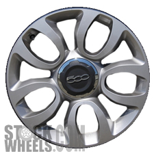 Picture of Fiat 500L (2014-2018) 17x7 Aluminum Alloy Chrome 5 U Spoke [61672]