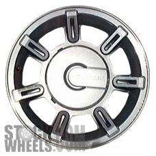 Picture of Hummer H2 (2004-2007) 17x8.5 Aluminum Alloy Chrome 7 Spoke [06301]