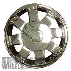 Picture of Hummer H2 (2006) 17x8.5 Aluminum Alloy Chrome 8 Spoke [06305]