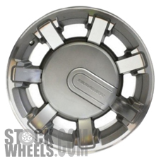 Picture of Hummer H2 (2008-2009) 17x8.5 Aluminum Alloy Silver 7 Spoke [06309B]