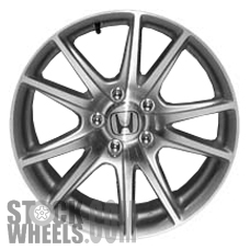 Picture of Honda S2000 (2004-2005) 17x7 Aluminum Alloy Chrome 5 Double Spoke [63872]