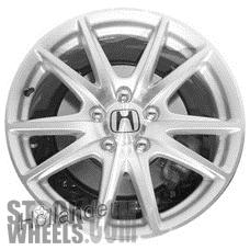 Picture of Honda S2000 (2004-2005) 17x8.5 Aluminum Alloy Chrome 5 Double Spoke [63873]