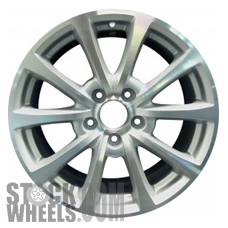 Picture of Honda S2000 (2006-2007) 17x8.5 Aluminum Alloy Chrome 5 V Spoke [63905]