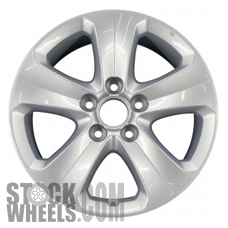 Picture of Honda ODYSSEY (2008-2010) 17x7 Aluminum Alloy Chrome 5 Spoke [63984]