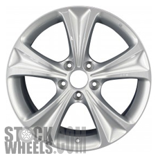 Picture of Honda ACCORD (2011-2012) 18x8 Aluminum Alloy Chrome 5 Spoke [64016]