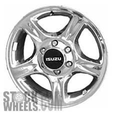Picture of Isuzu AXIOM (2002-2004) 18x7 Aluminum Alloy Chrome 5 Spoke [64236]