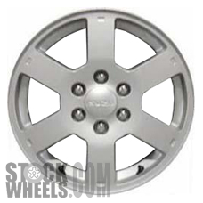 Picture of Isuzu ASCENDER (2004-2008) 17x7 Aluminum Alloy Chrome 6 Spoke [64243]