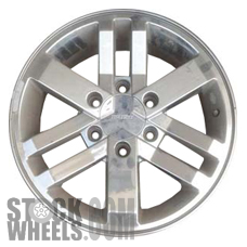 Picture of Isuzu AXIOM (2002-2004) 17x7 Aluminum Alloy Chrome 9 Spoke [64245]