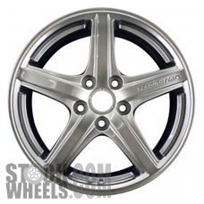 Picture of Mazda PROTEGE (2003) 17x7 Aluminum Alloy Chrome 5 Spoke [64853]