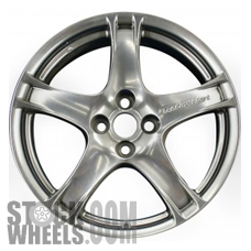 Picture of Mazda MX-5 MIATA (2005) 17x7 Aluminum Alloy Chrome 5 Spoke [64878]