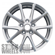 Picture of Mazda MX-5 MIATA (2009-2012) 17x7 Aluminum Alloy Chrome 5 Y Spoke [64923]