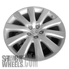 Picture of Mazda CX-9 (2010) 20x7.5 Aluminum Alloy Chrome 10 Spoke [64936]